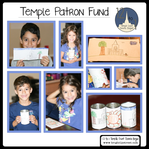 12 to 1 – Temple Count Down's Begun! Temple Patron Fund