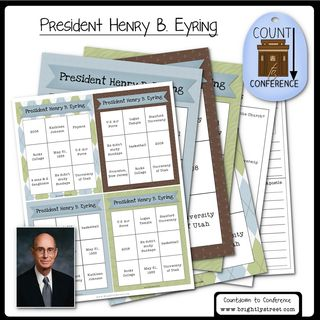 General Conference President Eyring