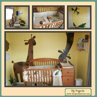 Brightly Street Zanzibar Animal Baby Boy Room Idea