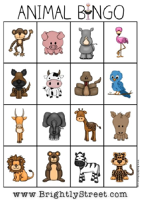 Brightly Street Zippity Zoo Educational Worksheet Packet