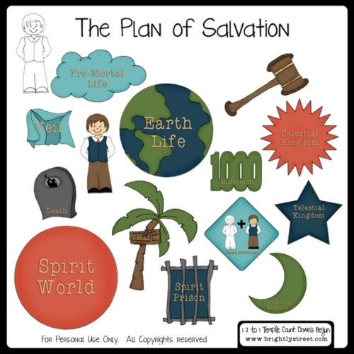 Brightly Street The Plan of Salvation visual aids