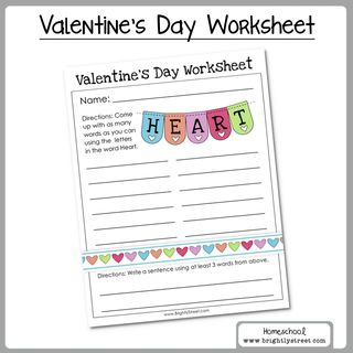 Brightly Street Homeschool Valentine_s Day