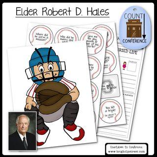 General Conference Elder Hales