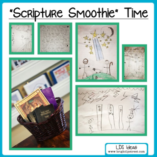 Brightly Street Scripture Smoothie Time