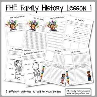 Family History Family Home Evening Lesson 1