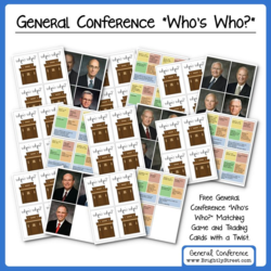 General Conference Card Game