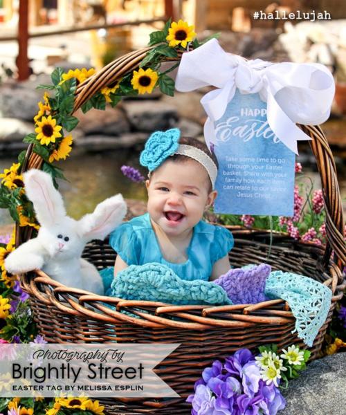 Easter Basket idea Melissa Esplin #hallelujah