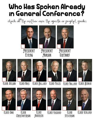 General Conference Apostles and Prophets Who Is Speaking General Conference Ideas