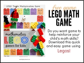 Lego Math Game