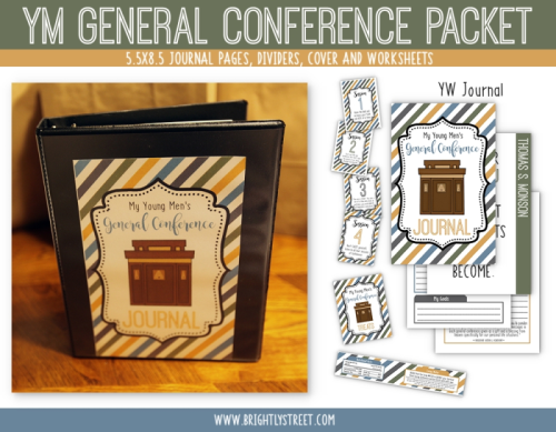 General Conference Journal for Boys