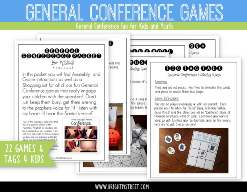 General Conference Games for Kids