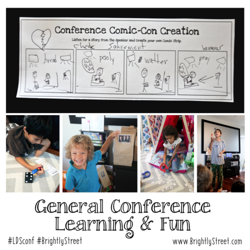General Conference Ideas for Kids