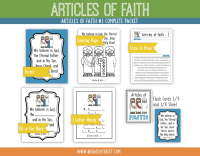 Etsy Articles of Faith 1