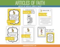 Etsy Articles of Faith 3