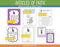 Etsy Articles of Faith 6