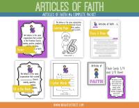 Etsy Articles of Faith 6