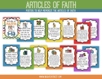 Etsy Articles of Faith Posters