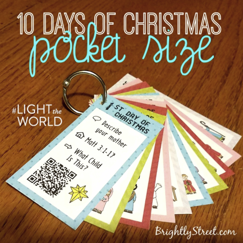 10 Days of Christmas pocket Size 2
