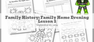 Family History FHE Lesson 2a