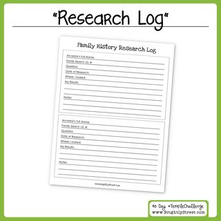 Day 29: Research Log
