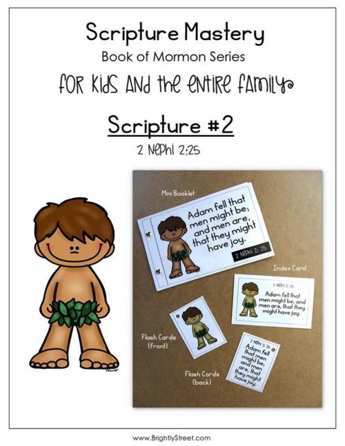 Scripture Mastery Book of Mormon #2 2 Nephi 2:25
