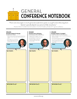 General Conference Packet for the Youth