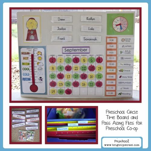 Preschool Board