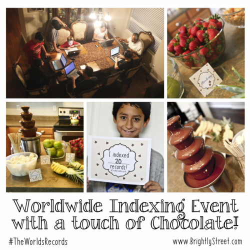 Worldwide Indexing Event 2016 #theworldsrecords