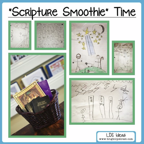 Scripture Study Basket