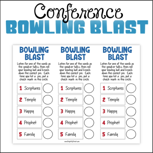 General Conference Bowling Blast