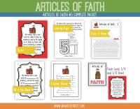 Etsy Articles of Faith 5