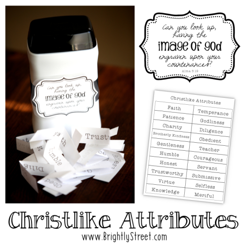 Come Follow Me YW Lesson – October Christlike Attributes