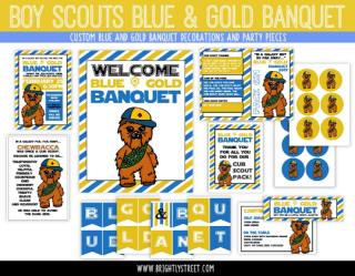 Blue and Gold Banquet Star Wars