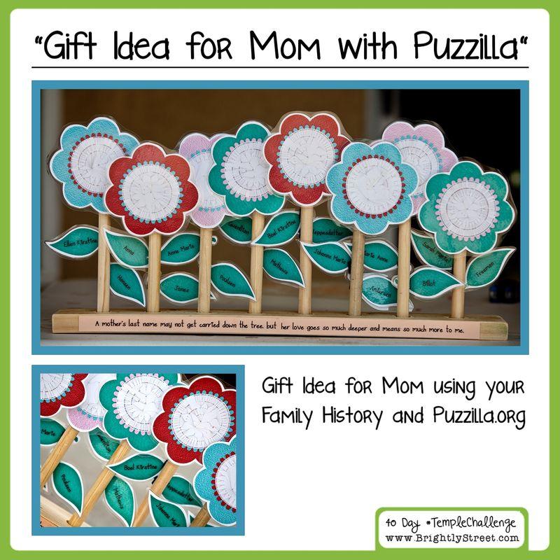Family History Gift Idea for Mom