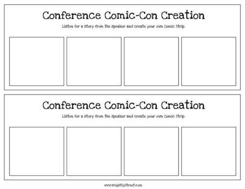 LDS General Conference Idea Comic Strip Story