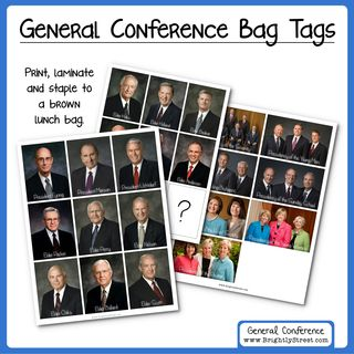 General Conference Ideas Speaker Bags