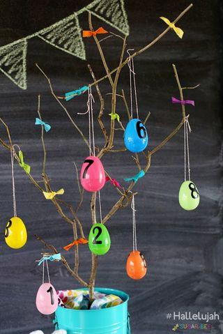Easter Week Activity Advent by Sugar Bee Crafts #hallelujah
