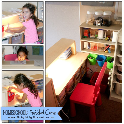 Homeschool Room Design in Small Spaces