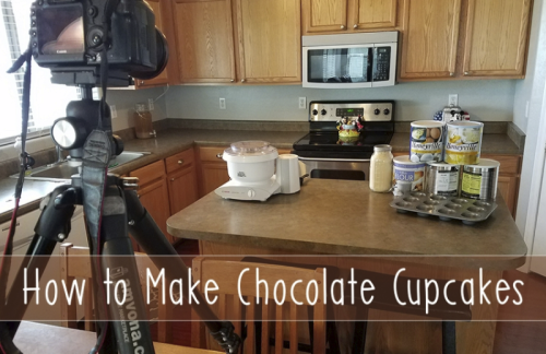 How to make Chocolate Cupcakes in a Jar