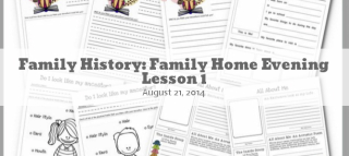 Family History FHE Covers