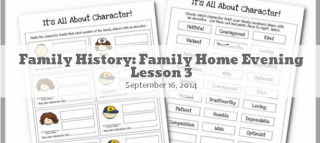 Family History FHE Lesson 3