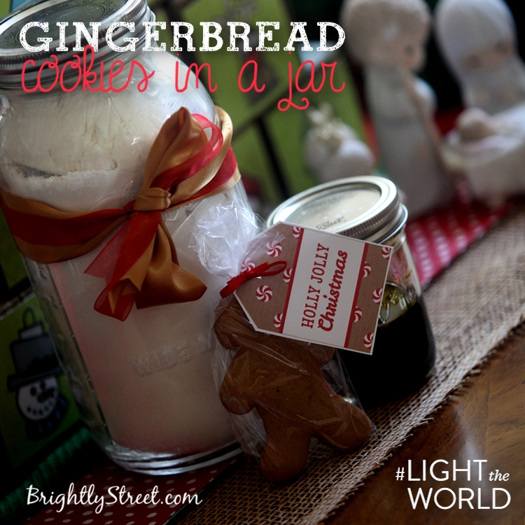 Christmas Gingerbread Cookies #LIGHTtheWORLD