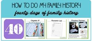 Family History 40 Days