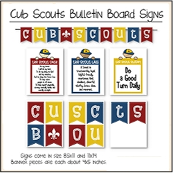 Scout Bulletin Board