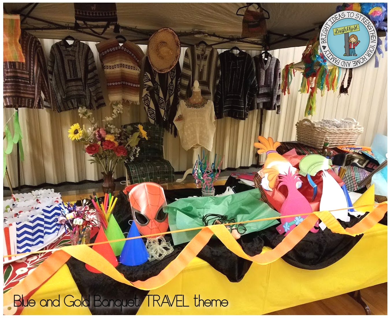 cub scouts blue and gold banquet travel theme - brightly street