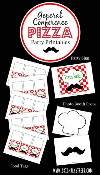 Pizza Party Printables
